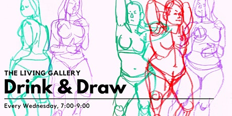 Drink & Draw at The Living Gallery tickets