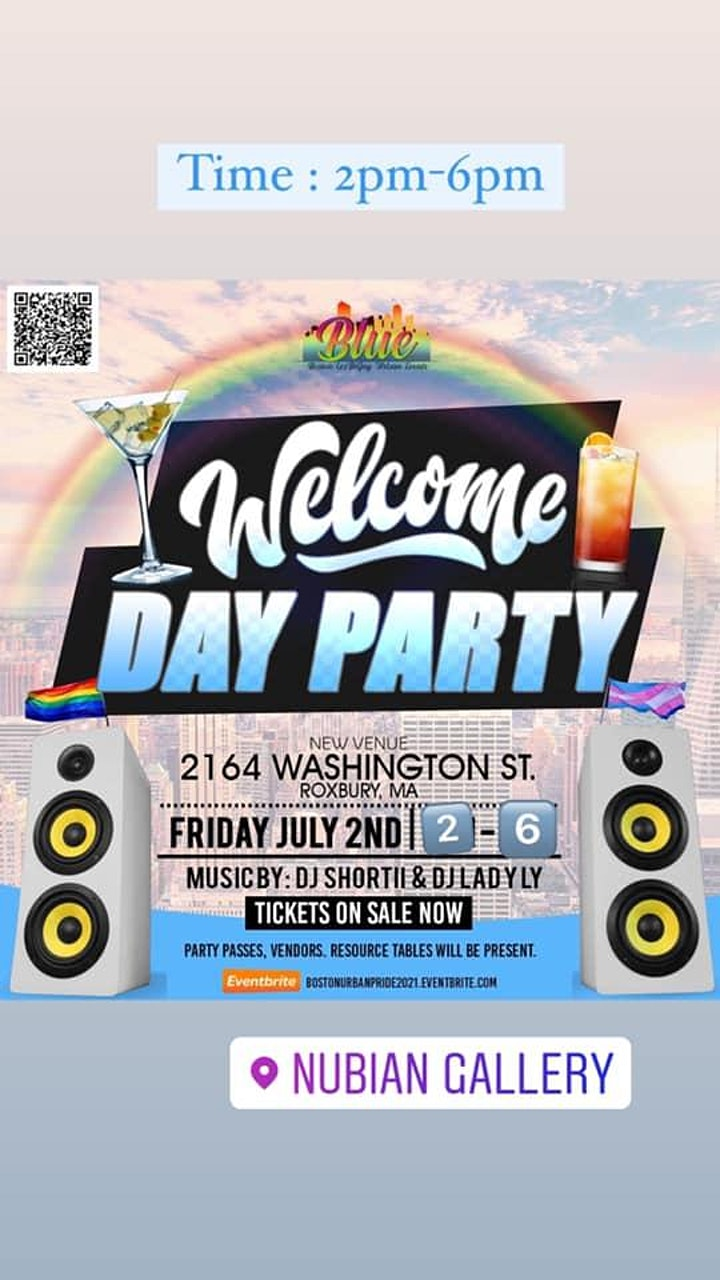 B.L.U.E. Presents Boston Urban Pride Weekend 2021 image