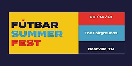 Fútbar Summer Fest tickets