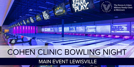 Bowling with Cohen Metrocare tickets