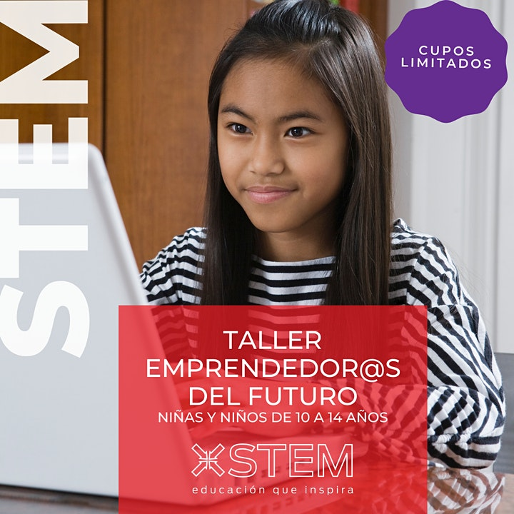 "Imagen de Taller STEM ""Emprendedor@s tech del futuro"""