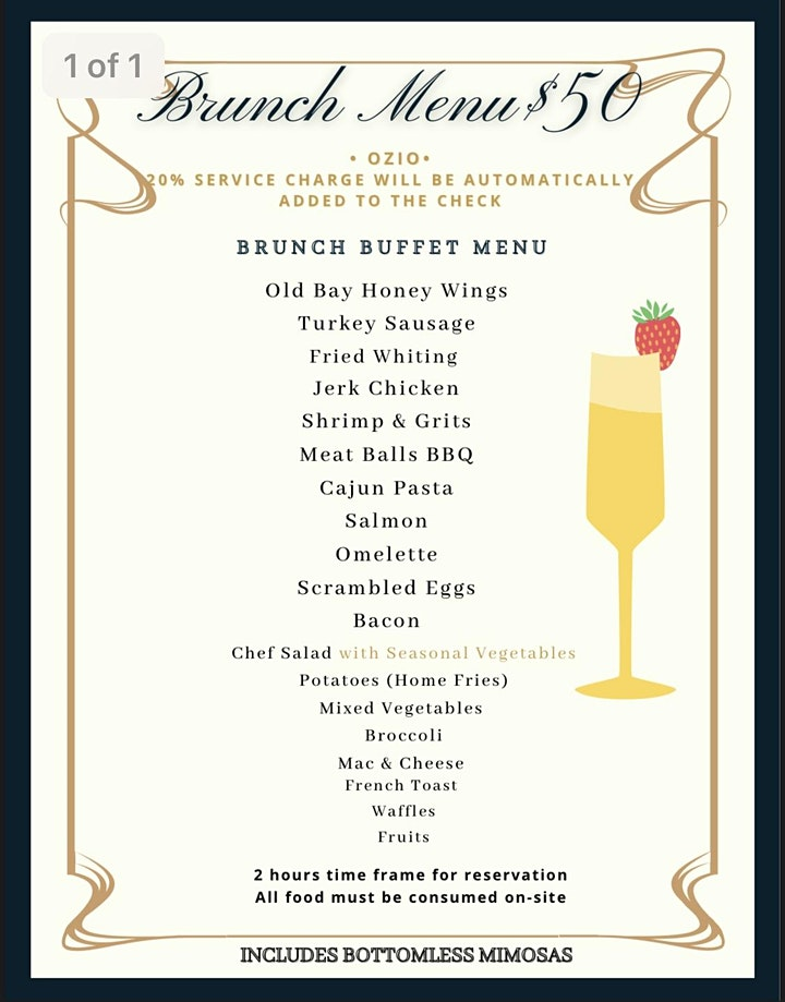 Ozio Sunday Brunch and Day Party image