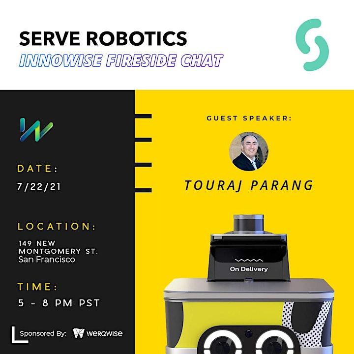 Future of Transportation - Touraj Parang, Serve Robotics image