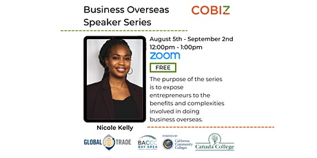 Business Overseas Speaker Series For Small Businesses tickets