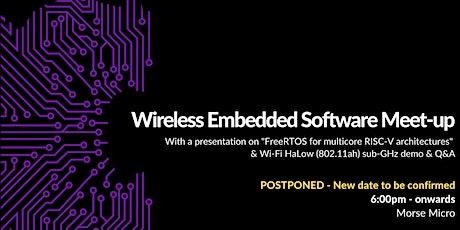 Wireless Embedded Software Meet-up tickets