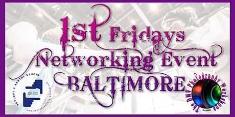 """""""1st Fridays of the Month"""" Media Industry Networking & Open Studio Event tickets"""