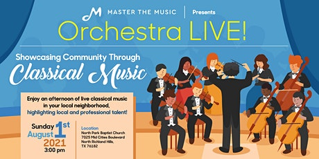 Orchestra LIVE! Showcasing Community Through Classical Music tickets