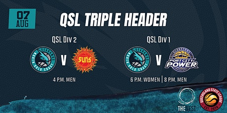 QSL Triple Header - QSL 1 v Gladstone & QSL 2 vs Moreton Bay tickets