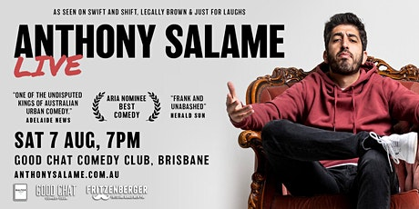Good Chat Comedy Presents | Anthony Salame LIVE! tickets