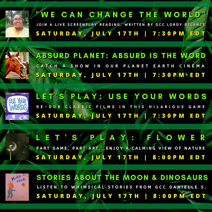 Camp Yampire: Ecological Empathy (Friday Session) image