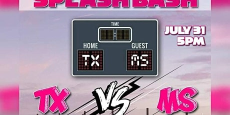 Mississippi Vs Texas Pool Party Part ll tickets