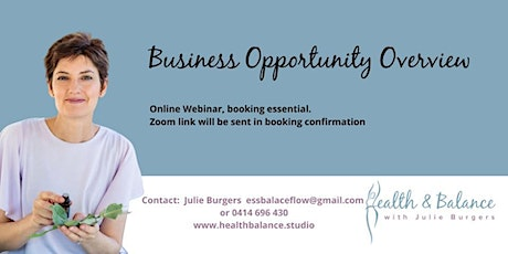 Business Opportunity Overview tickets