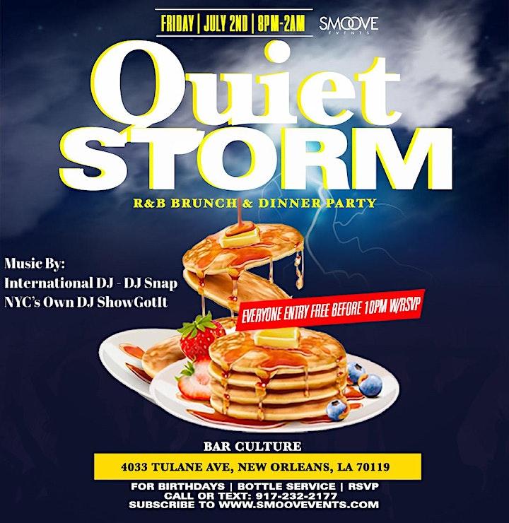 Quiet Storm R&B Brunch & Dinner Party: Essence Festival 2021 image