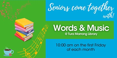 Words and Music @ Tura Marrang Library tickets