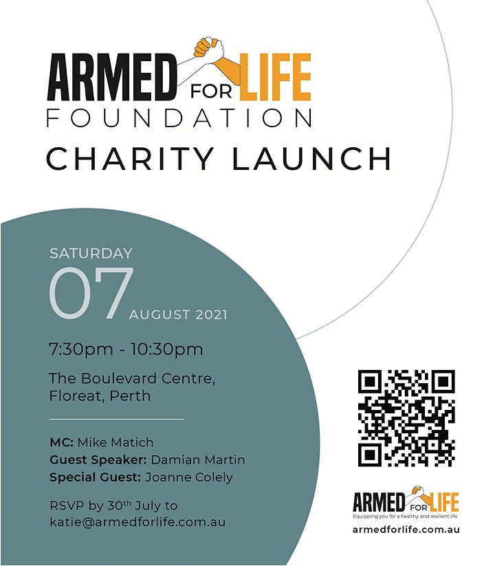 Armed For Life Foundation Charity Launch image