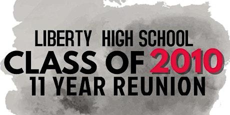 Liberty High School 11 Year Reunion tickets