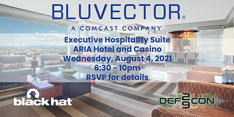 BluVector Hospitality Suite - Black Hat and Def Con 2021 tickets