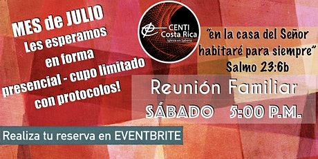 REUNIÓN FAMILIAR CENTI  Sabana boletos