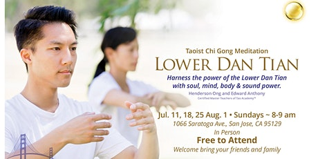 Harness the Power of the Lower Dan Tian tickets