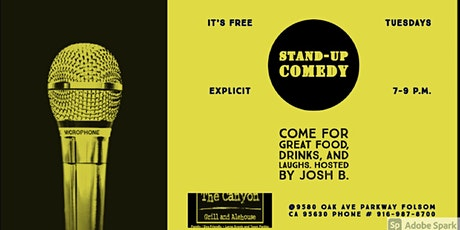 Stand-Up Comedy Showcase at The Canyon Grill & Alehouse tickets