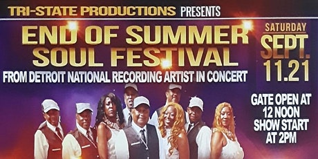 End of Summer Soul Festival tickets