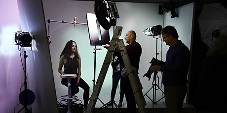 Studio and Product Photography Workshop  - Portrait Photography - Level one tickets