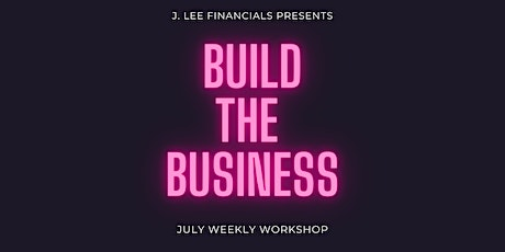 Build-The-Business Workshop tickets