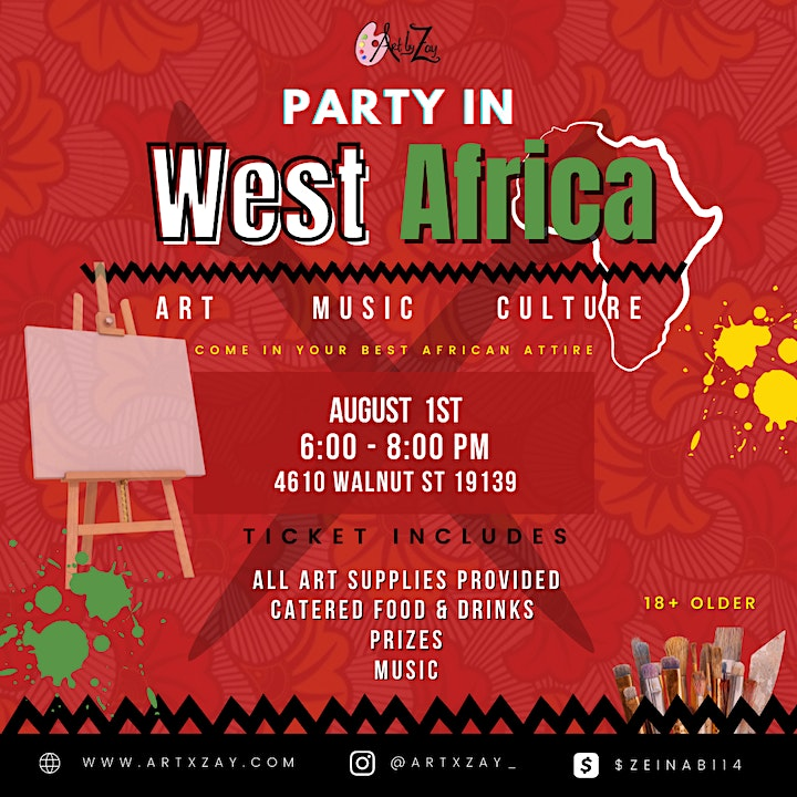 Party in West Africa image