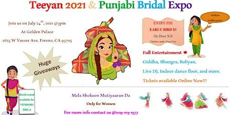 Teeyan 2021 & Punjabi Bridal Expo tickets