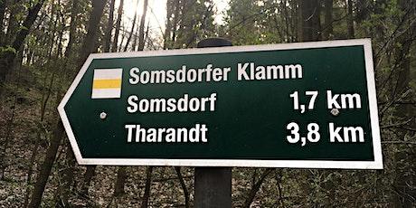 Somsdorfer Klamm (Altersgruppe 45 bis 60 Jahre) Tickets