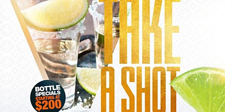 Take A Shot Thursdays Day party Taj Lounge Hookah Happy Hour NYC Events tickets
