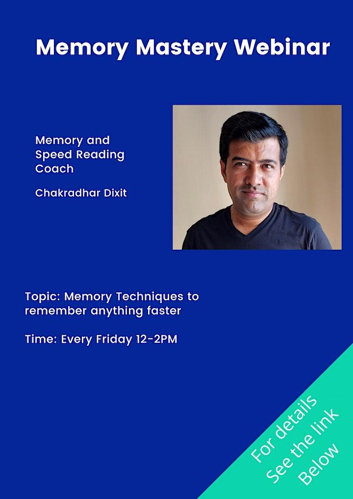 Memory Mastery Webinar image