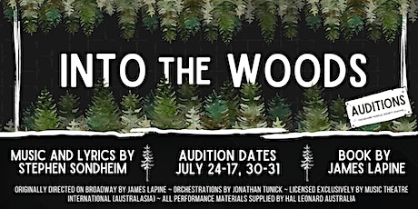 Into the Woods Auditions tickets