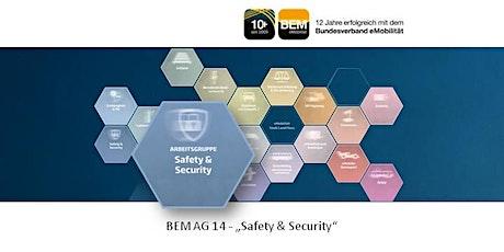 """BEM-AG 14 """"Safety & Security"""" September 2021 Tickets"""