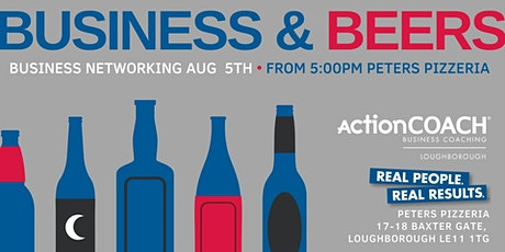Business and Beers 5th August 2021 tickets