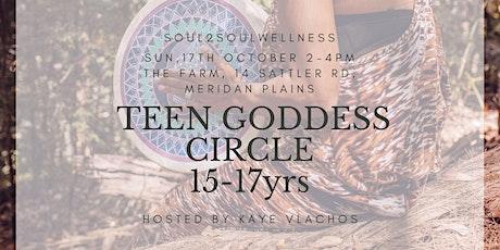 TEEN GODDESS CIRCLE WITH KAYE VLACHOS tickets