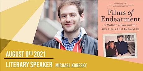 Literary Speaker - Michael Koresky - Stamford Pride tickets
