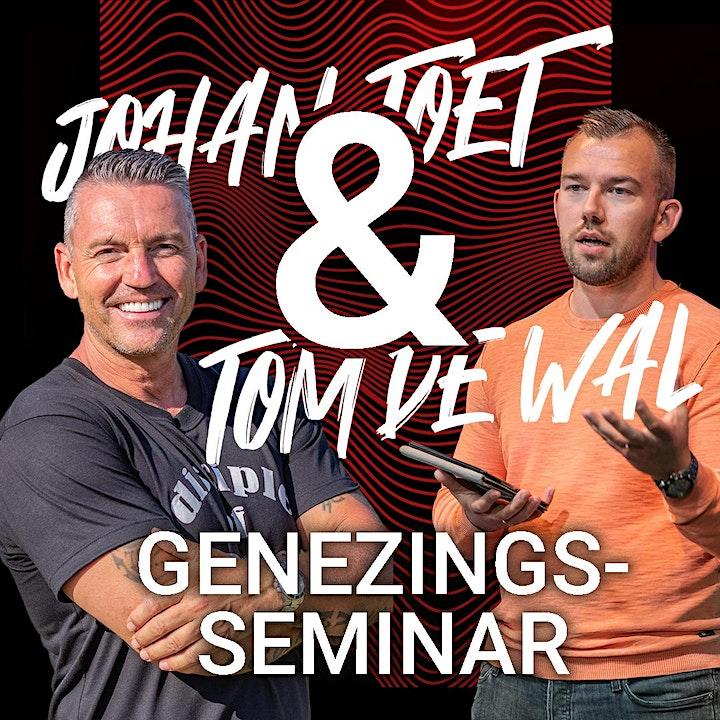 Afbeelding van Greater Faith Genezingseminar - Tom de Wal & Johan Toet