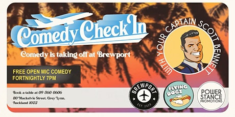 Check in Comedy tickets