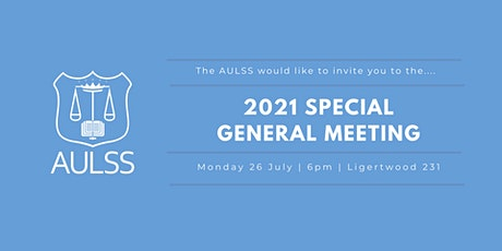 2021 AULSS Special General Meeting (SGM) tickets