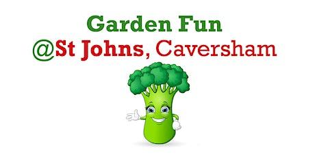 Garden Fun @ St John's, Caversham - outdoor activities for 4 to 10yr olds tickets