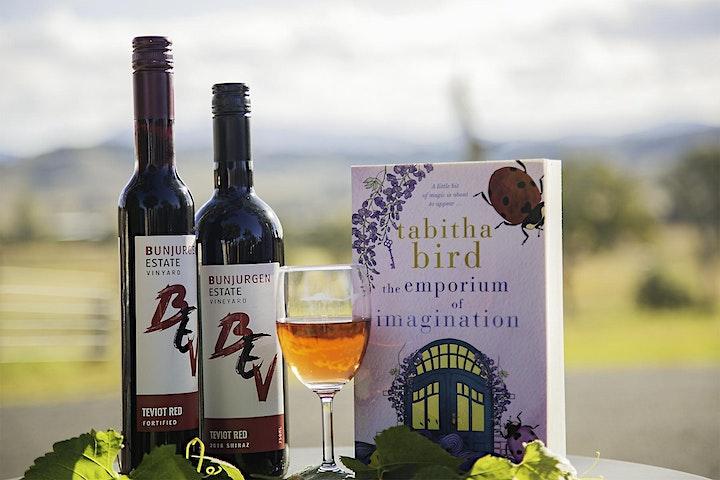 Sunset Literary Tasting in the Vineyard image
