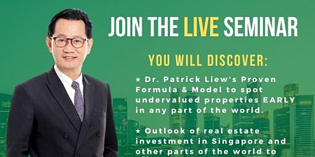 **[FREE ONLINE Property Investing MASTERCLASS by Dr Patrick Liew!]* tickets
