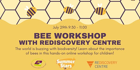 Bees Workshop with Rediscovery Centre tickets