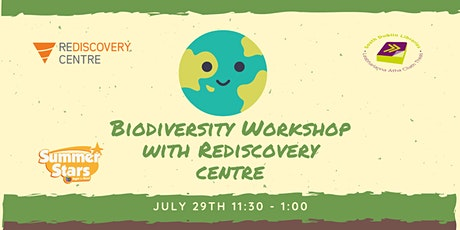 Biodiveristy Workshop with Rediscovery Centre tickets