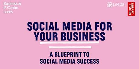 A blueprint to social media success tickets