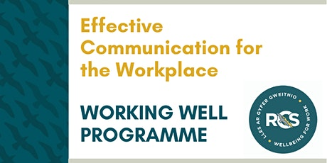Effective Communication for the Workplace tickets