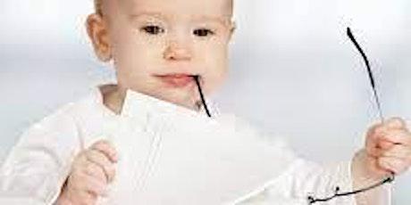 Bébé bouquine billets