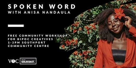 Spoken Word  Workshop tickets