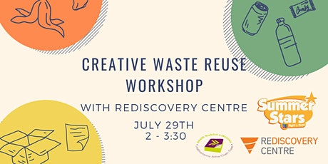 Creative Waste Reuse Workshop with Rediscovery Centre tickets